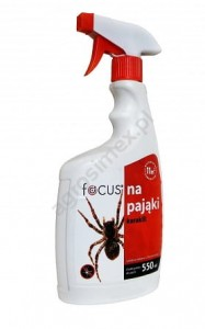 Focus na pająki (spray) karakill 550 ml