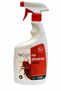 Focus na pluskwy (spray) karakill 550 ml